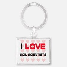 SOIL-SCIENTISTS133 Landscape Keychain