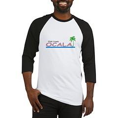 Visit Scenic Ocala, Florida Baseball Jersey