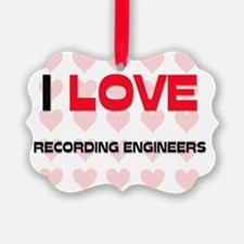 RECORDING-ENGINEERS138 Ornament