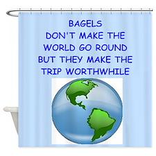 bagels Shower Curtain