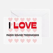 RADIO-SOUND-TECHNICI48 Greeting Card