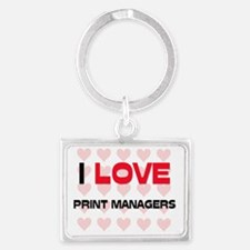 PRINT-MANAGERS80 Landscape Keychain