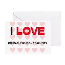 PRIMARY-SCHOOL-TEACH53 Greeting Card