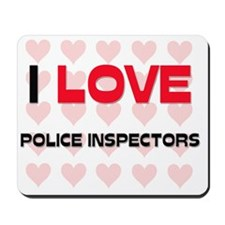 POLICE-INSPECTORS11 Mousepad