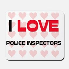 POLICE-INSPECTORS11 Mousepad