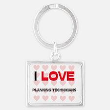 PLANNING-TECHNICIANS125 Landscape Keychain