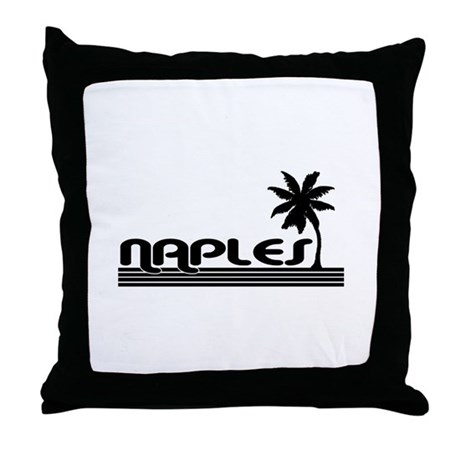 Naples, Florida Throw Pillow by floridasaurus