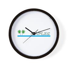 Naples, Florida Wall Clock