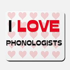 PHONOLOGISTS40 Mousepad