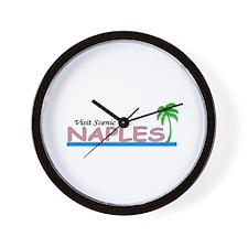 Visit Scenic Naples, Florida Wall Clock
