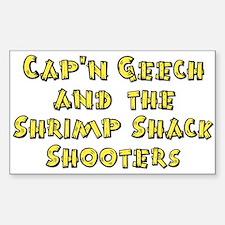 Shrimp Shack Rectangle Decal