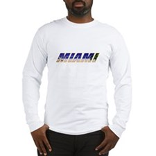 Miami, Florida Long Sleeve T-Shirt