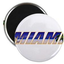 """Miami, Florida 2.25"""" Magnet (10 pack)"""