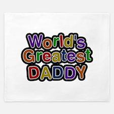 World's Greatest Daddy King Duvet