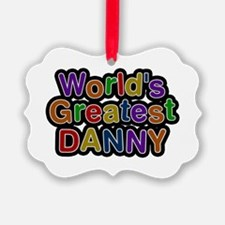 World's Greatest Danny Ornament