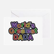 World's Greatest Dada Greeting Card