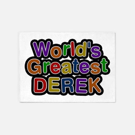 World's Greatest Derek 5'x7' Area Rug
