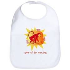 Year of the Monkey 2 Bib