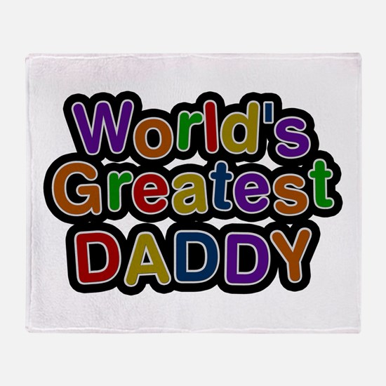 World's Greatest Daddy Throw Blanket