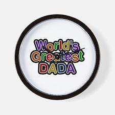 World's Greatest Dada Wall Clock