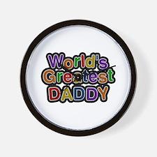 World's Greatest Daddy Wall Clock