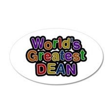 World's Greatest Dean Wall Decal