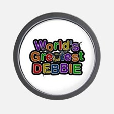 World's Greatest Debbie Wall Clock