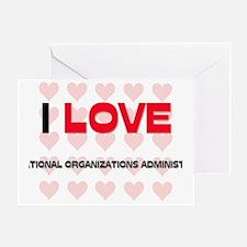 INTERNATIONAL-ORGANI57 Greeting Card