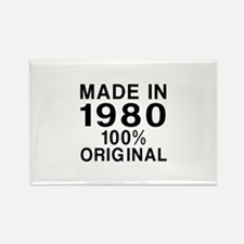 Made In 1980 Rectangle Magnet