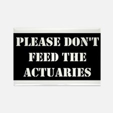 Cute Actuarial jobs Rectangle Magnet (10 pack)