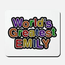 World's Greatest Emily Mousepad