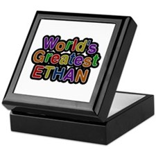 World's Greatest Ethan Keepsake Box