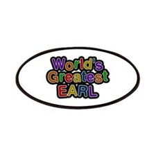 World's Greatest Earl Patch