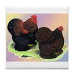 Partridge Cochin Bantams Tile Coaster