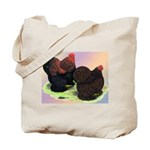 Partridge Cochin Bantams Tote Bag