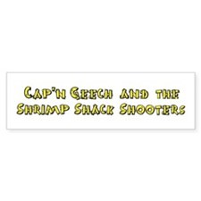 Cap'n Geech Shrimp Shack Bumper Bumper Sticker