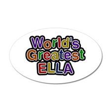 World's Greatest Ella Wall Decal
