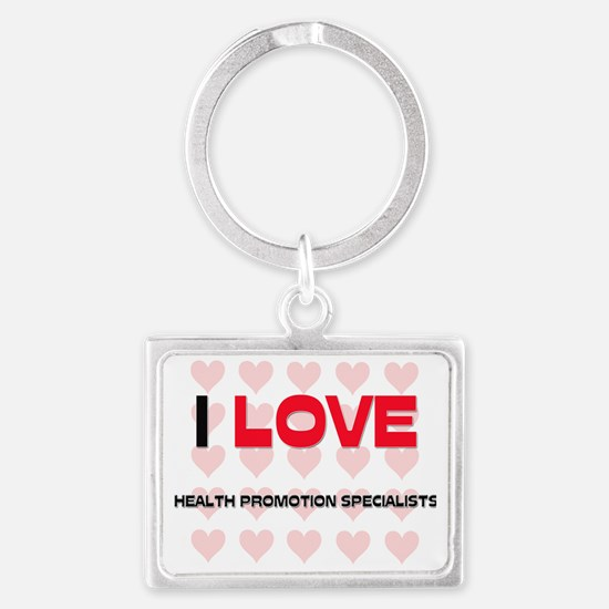 HEALTH-PROMOTION-SPE99 Landscape Keychain