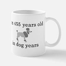 65 birthday dog years poodle 2 Mug