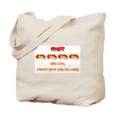 Give Crabs Tote Bag
