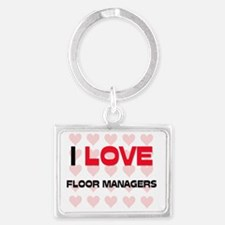 FLOOR-MANAGERS142 Landscape Keychain