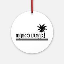 Marco Island, Florida Ornament (Round)