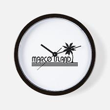 Marco Island, Florida Wall Clock