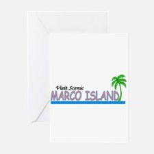 Visit Scenic Marco Island, Fl Greeting Cards (Pack