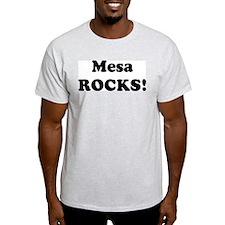 Mesa Rocks! Ash Grey T-Shirt