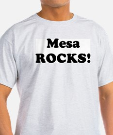Mesa Rocks! Ash Grey T-Shirt
