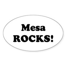 Mesa Rocks! Oval Decal