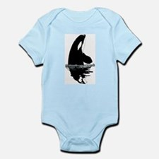 Orca Killer Whale Infant Bodysuit