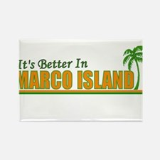 It's Better in Marco Island, Rectangle Magnet (10