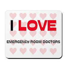 EMERGENCY-ROOM-DOCTO113 Mousepad